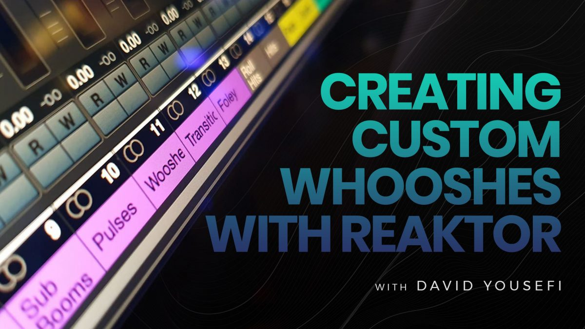 How to create Whooshes in Reaktor