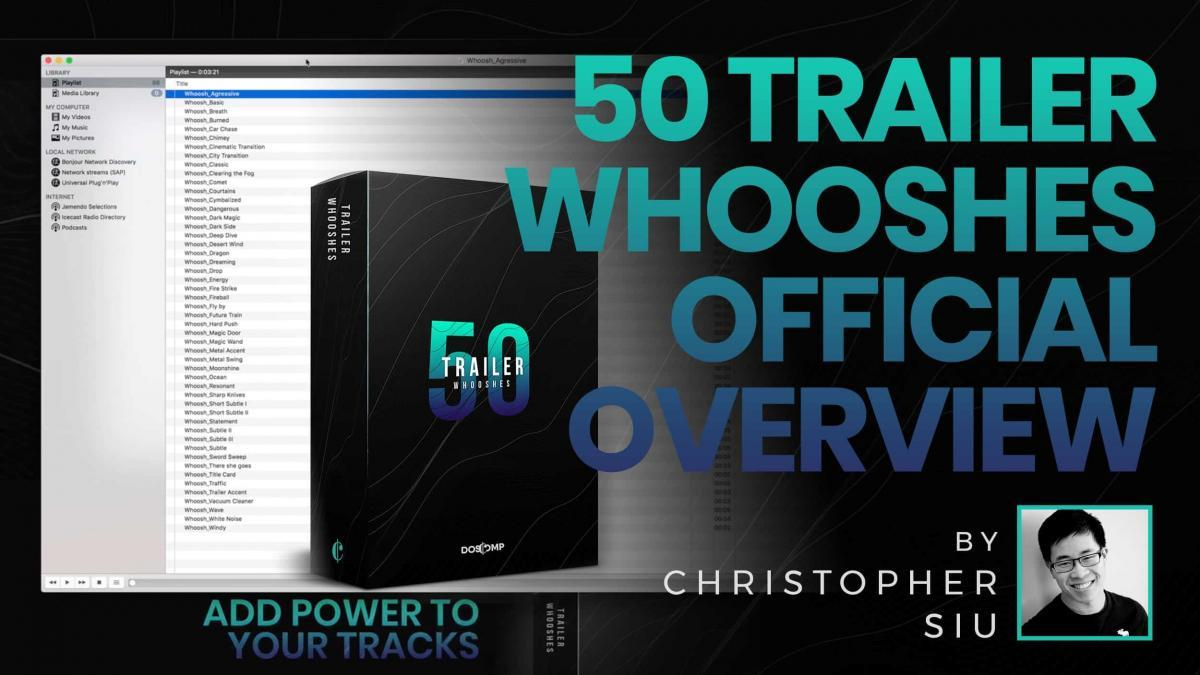 50 Trailer Whooshes Video Overview